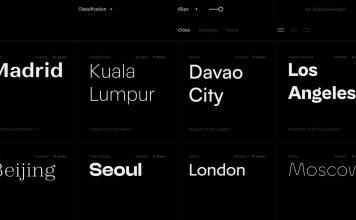 Fontshare - alternatywa Google fonts?