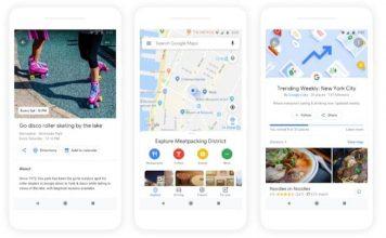 Google Maps - nowe funkcje